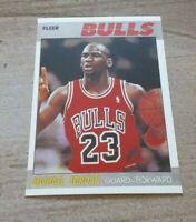 Michael Jordan 1987 Fleer #59 Card/ Chicago Bulls SEE BELOW