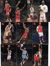 1998 Michael Jordan UD Upper Deck MJx 4th QUARTER Foil Set of 10 - #121-130