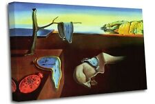 More details for salvador dali - the persistence of memory canvas canvas wall art picture print