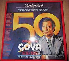 BOBBY CAPO INTERPRETA 30 EXITOS MUSICALES EN HOMENAJE AL 50 ANIVERSARIO DE GOYA