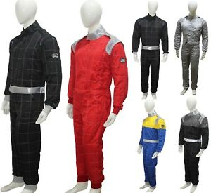 Karting Suit Race Rally Suits Shiny Suits 3 Layer Suit CIK-FIA Level 2 Approved