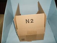 Faltschachtel Faltkartons Verpackungsmaterial 25 Stück gebraucht Nr. 2