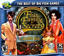 FLUX FAMILY SECRETS: THE RABBIT HOLE PC Game Puzzle Solving PAL 2013 PG