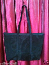 Romeo Gigli Tote Bag Purse Made in Italy Black Mesh Light Carry On