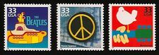 The Beatles Yellow Submarine Peace Sign Symbol Woodstock Music Festival US Stamp
