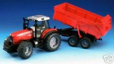 Massey Ferguson 7480 with Tipping Trailer  NEW