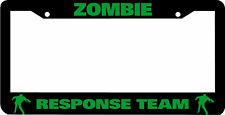 ZOMBIE RESPONSE TEAM  License Plate Frame
