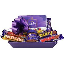 Personalised Couples Cadbury Chocolate Gift Hamper Festive Food Gift for Parents
