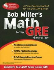 Bob Miller's Math for the GRE General Test (REA) (GRE Test Preparation) by Mill