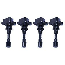 New AD AutoParts Set of 4 Ignition Coils For Mazda 2006-2007
