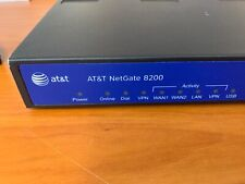AT&T NetGate 8200 Accelerated VPN/Firewall SG8200 w/ AC Adapter MT5656RJ