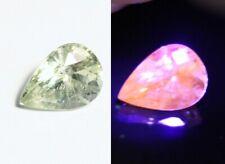 1.34ct Merelani Mint Grossular Garnet - Rare Faceted Fluorescent Exceptional Gem