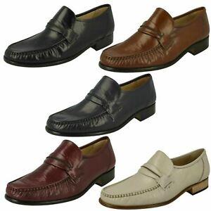 Vente Hommes Thomas Blunt Moccasin Chaussure à Enfiler Boston Largeur G