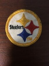 Pittsburgh Steelers Yellow Border Football Patch
