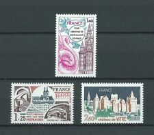 SERIE TOURISTIQUE - 1977 YT 1947 à 1949 - TIMBRES NEUFS** LUXE