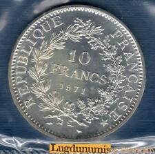 FDC - 10 Francs Hercule 1971 FDC 12000 Exemplaires Scéllé coffret FDC