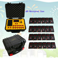 96 Cue Fireworks Firing System Balloon System 500M Remote ABS Waterproof Cas