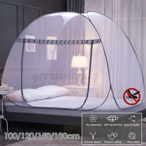 150-180CM Mosquito Net Tent Insect Folding Home Canopy Curtains Outdoor