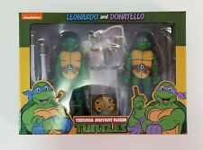 NECA Nickelodeon teenage mutant ninja turtles Leonardo and Donatello