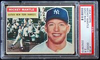 1956 Topps #135 Mickey Mantle PSA 2.5