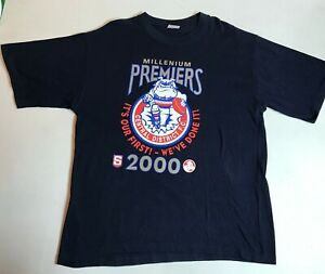 Vintage 2000 Central Districts Bulldogs SANFL Football 1st Premiers T-Shirt