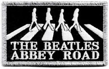 Official Merch Woven Iron-on PATCH John Lennon THE BEATLES Abbey Road