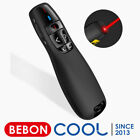 2.4GHz USB Wireless Presenter PPT Remote with Red Laser for Mac,Laptop,Computer