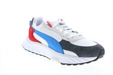 Puma Wild Rider Rollin 38151704 Hombres Zapatos tenis blancos de lona estilo de vida