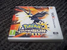 1X Replacement Nintendo 3DS Pokemon:Ultra Sun. Empty 3DS Game Case.