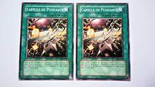 Lot 2 Cartes Yu Gi Oh Capsule De Puissance EOJ-FR043