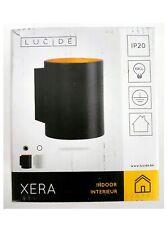 Lucide XERA - Wall Light - Ø 8 cm - G9 - Black [Energy Class A++]