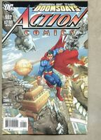 Action Comics #902-2011 nm- 9.2 Doomsday / Supergirl / Steel standard cover