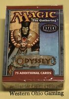 MTG Magic Odyssey Tournament Pack from Box NEW Deck 75 Additional Cards