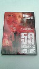 "DVD ""50 HOMBRES MUERTOS"" BEN KINGSLEY JIM STURGESS ROSE McGOWAN"