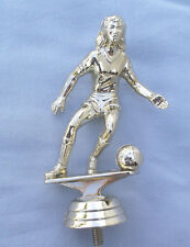 """lot of 20 female soccer trophy parts 4 1/2"""" tall PDU 5036-G"""