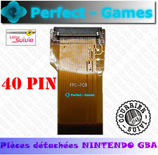 NINTENDO GBA Game Boy Advance nappe ruban flex ribbon cable ecran lcd 40 pin