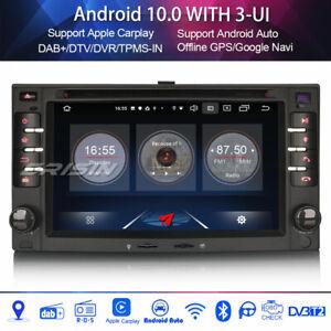 Dab + car radio android 10.0 carplay 4g for kia rio sorento carens sportage euro