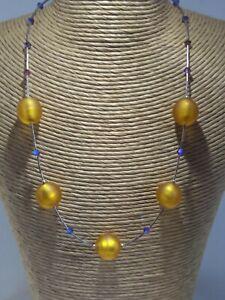 Beautiful Venetian Glass Bead Necklace