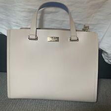 Kate Spade New York Beige Leather Handbag.New
