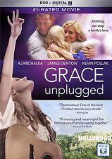 GRACE UNPLUGGED (2013 AJ Michalka)  - DVD - Region 1 Sealed