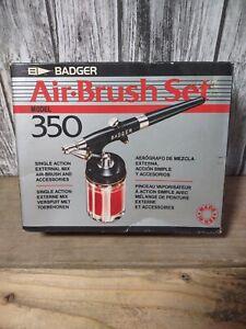 Badger Air-Brush Co. 350-1M Single Action Medium Head Airbrush