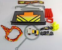 Vintage - Tyco / Matchbox Power Changers Ring of Fire Stunt Set #1494 INCOMPLETE