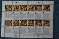 1993 Human Rights Full Sheet - New York N628 - MNH