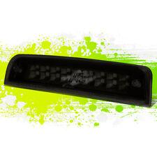 BLACK DUAL ROW 3RD BRAKE LIGHT/LAMP w/SMOKED LENS FOR 09-16 RAM 1500-3500 TRUCKS