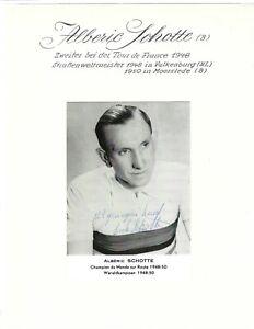 Alberic Schotte +2004 Belgien - Rad -  Tour de France - Weltmeister 1949 u. 1950