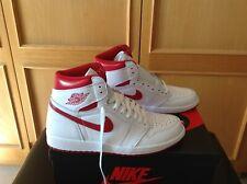 Nike Air Jordan 1 Retro High OG US 10,5 44,5 white Varsity Red