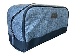Hugo Boss Travel Toiletry Wash Bag Grey Men