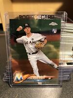 2018 TOPPS CHROME BRIAN ANDERSON ROOKIE CARD MIAMI MARLINS RC MLB