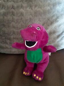 "2007 8"" Barney The Purple Dinosaur Plush Soft Toy"
