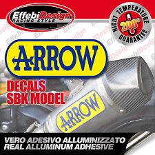 Adesivo/Sticker ARROW SBK EVO2 ALTE TEMPERATURE 200 SCARICHI EXHAUST TOP QUALITY